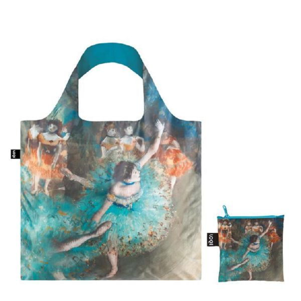 "BOLSA PLEGABLE ""MUSEUM"" EDGAR DEGAS Swaying dancer -LOQI-"