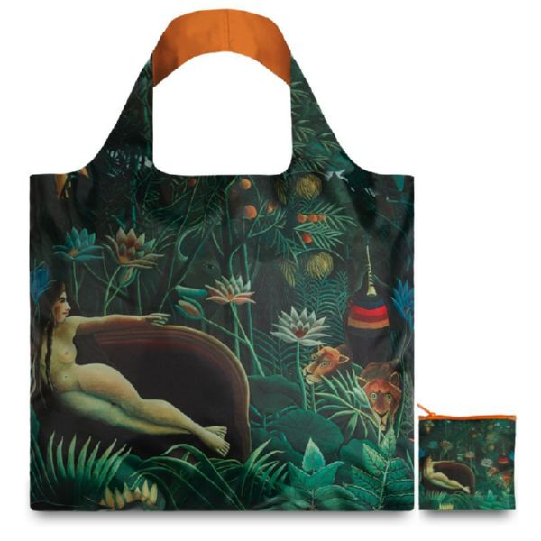 "BOLSA PLEGABLE ""MUSEUM"" HENRI ROUSSEAU The Dream -LOQI-"