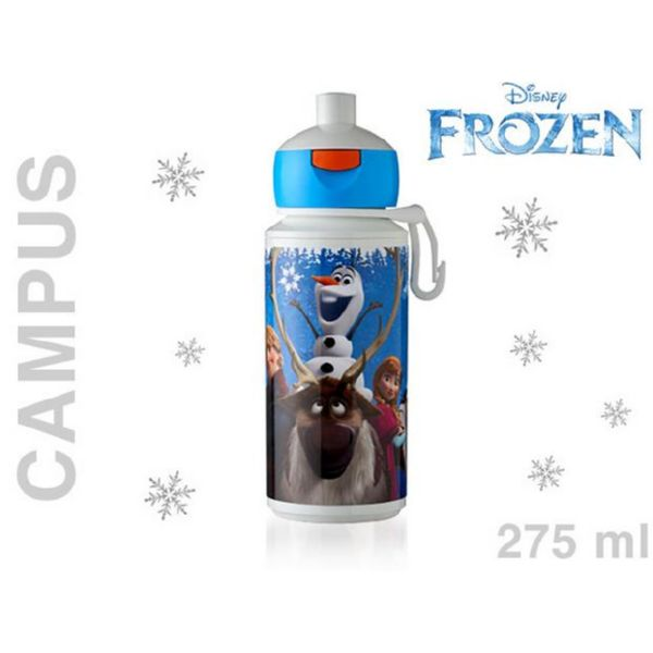 BOTELLA 275 ml FROZEN INFANTIL POP UP CAMPUS SIN BPA de ROSTI MEPAL