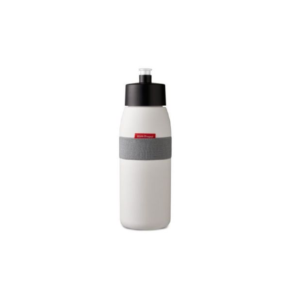 BOTELLA 500 ml BLANCA SPORTS ELLIPSE SIN BPA de ROSTI MEPAL