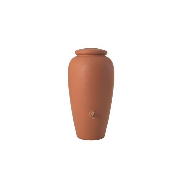 DEPÓSITO ÁNFORA 300 litros DECORATIVO COLOR TERRACOTA 211701 GRAF