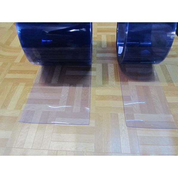 PVC TRANSP. 2mm FLEXIBLE 0,15 mt(ancho)