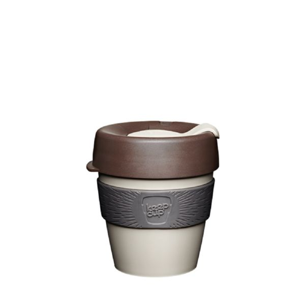VASO con TAPA 227 ml NATURAL S Changemaker -KeepCup-