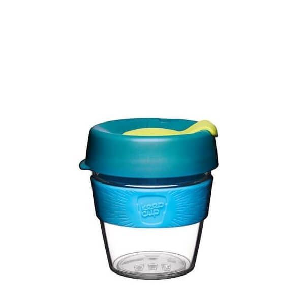 VASO con TAPA 227 ml OZONE S Clear -Keepcup-