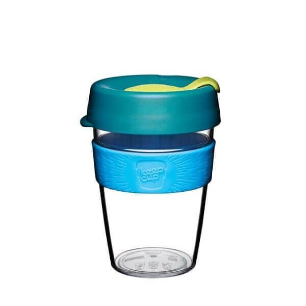 VASO con TAPA 340 ml OZONE M Clear -Keepcup-