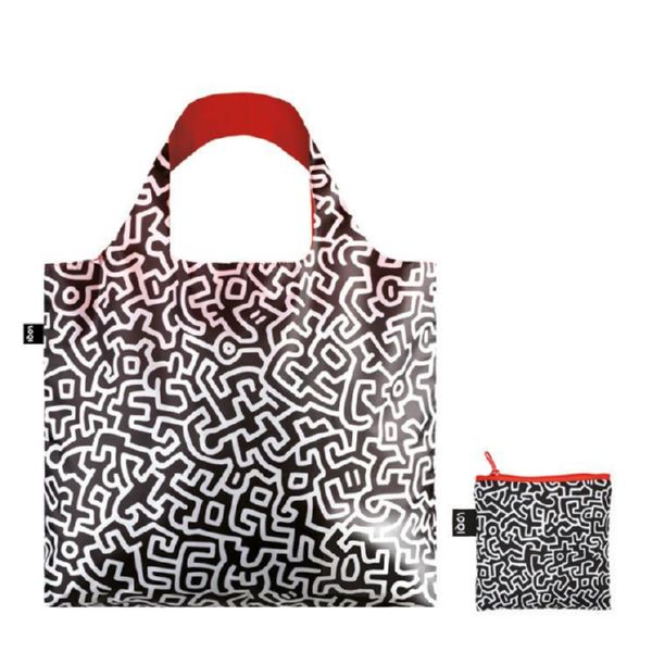 "BOLSA PLEGABLE ""MUSEUM"" KEITH HARING Untitled -LOQI-"